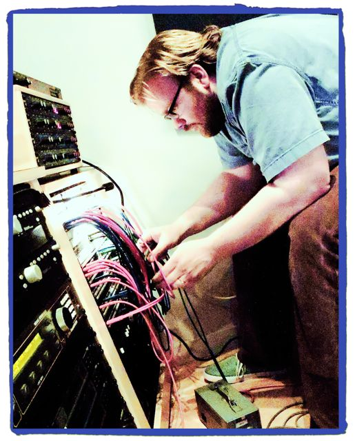 Kid mastering the Patch Bay at Coast