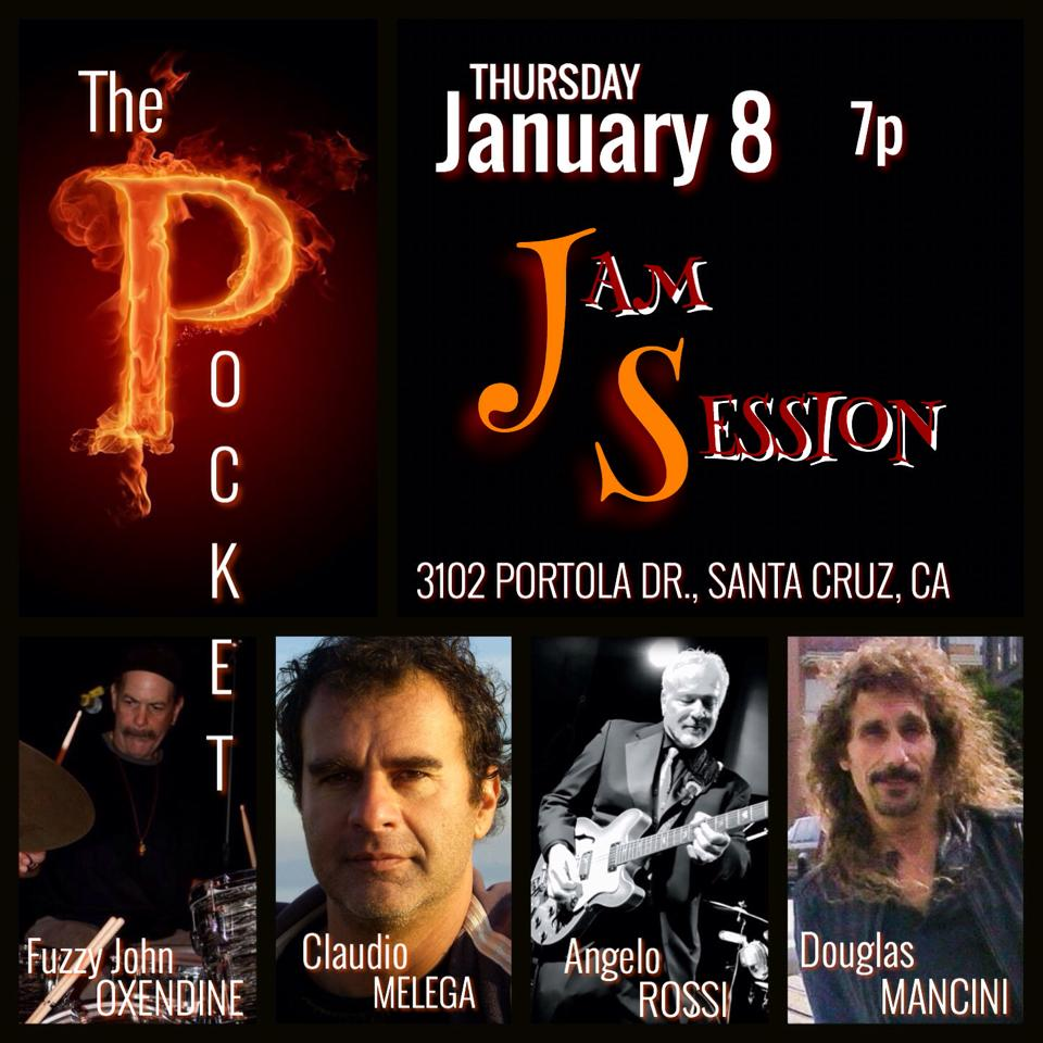 Thursday Jam in Santa Cruz at Jerry's Front Pocket!