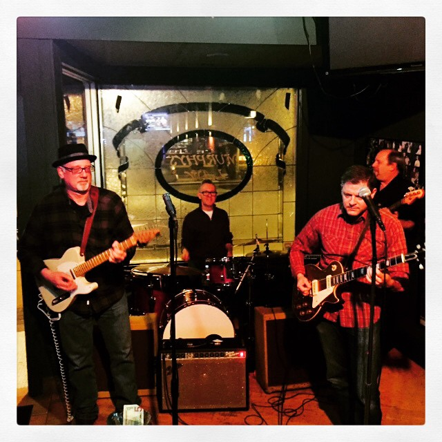 Walter, George, Russell & Keith at Murphy's Law.