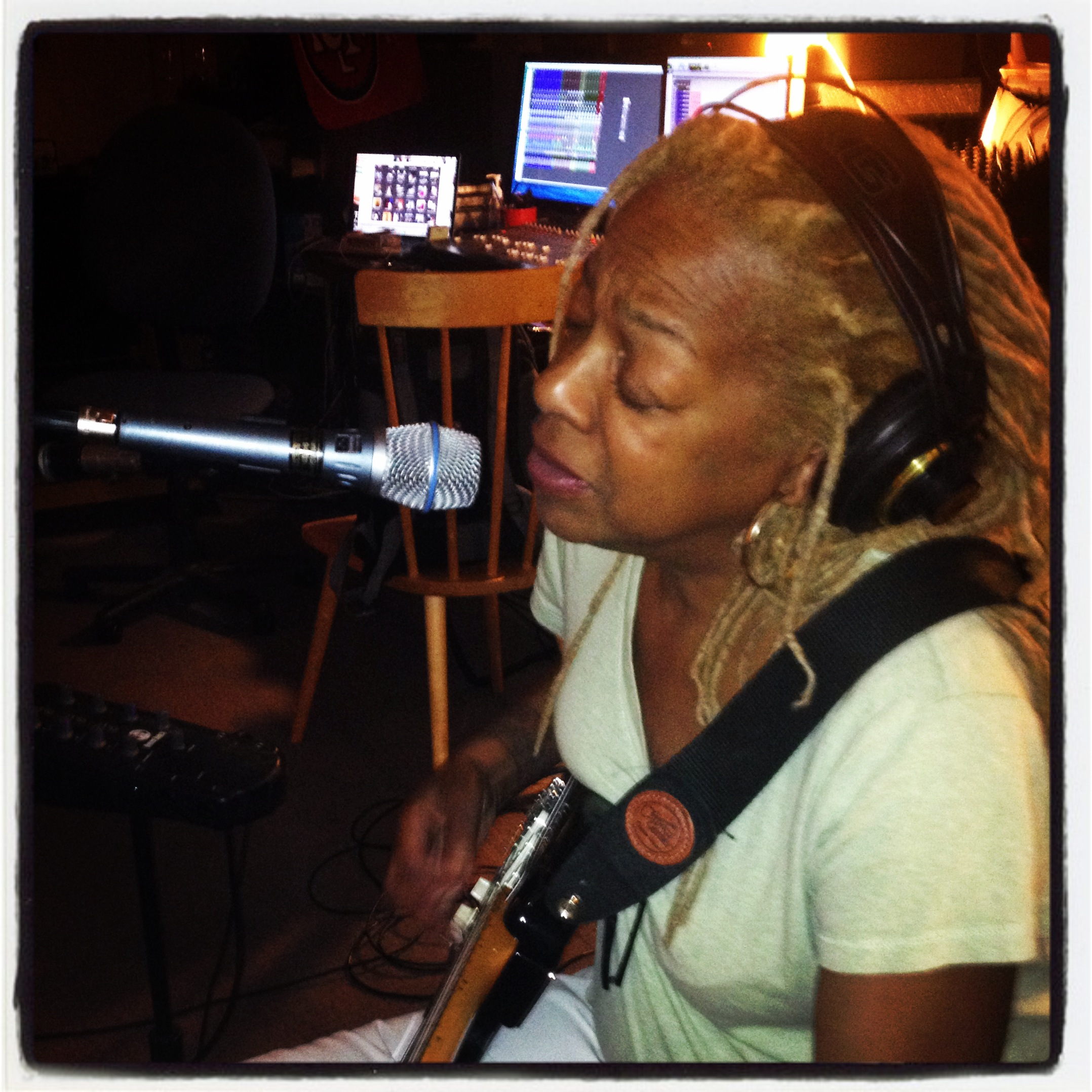 Recording Pat Wilder