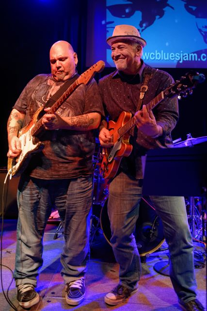 Popa Chubby and AJ Crawdaddy @ Club Fox Blues jam.