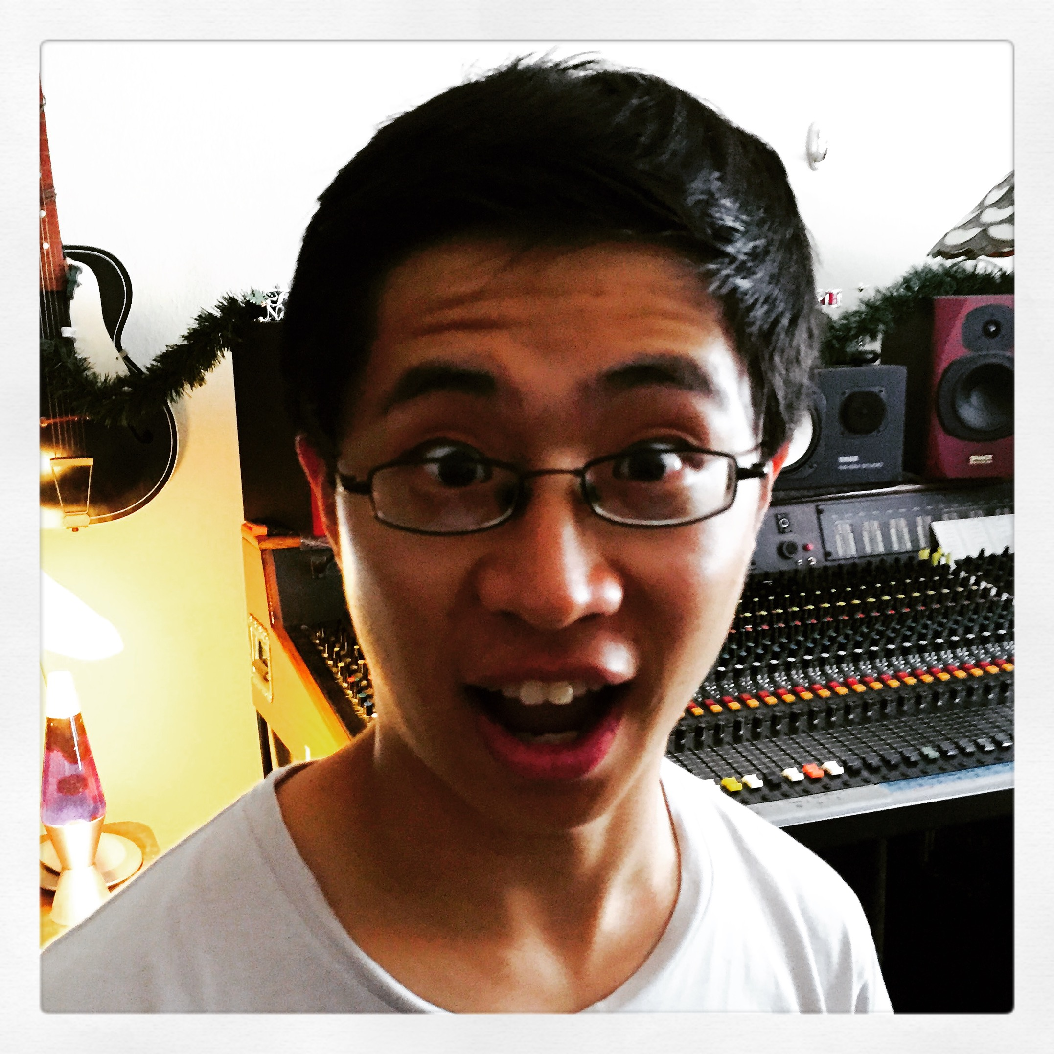 Meet Andrew Lu ~ Composer, musician, great kid.  All of 18 and brilliant fellow!